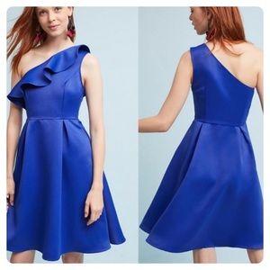 "Anthropologie ""Shreya One-Shoulder Dress"